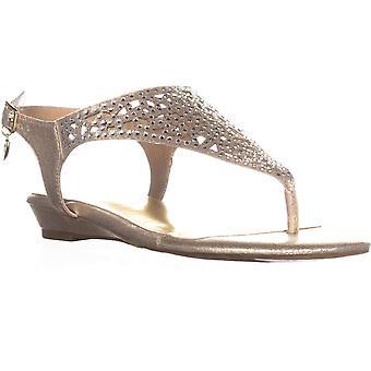 Thalia Sodi naisten Ilyssa avoimen rento Slingback sandaalit