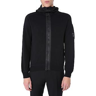 C.p. Unternehmen 08cmkn112a005367m999 Männer's schwarze Baumwolle Sweatshirt