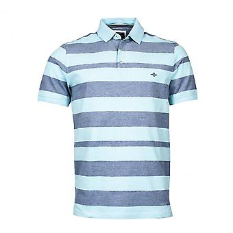 BAILEYS GIORDANO Baileys Blue Striped Polo Shirt 5293