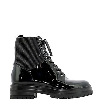 Gianvito Rossi G7388420cuovheblack Women's Black Patent Leather Ankle Boots