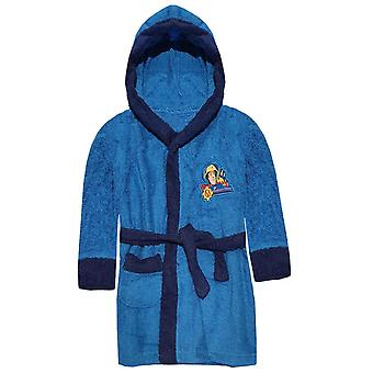 Fireman sam boys robe gown bathrobe fms2247btb