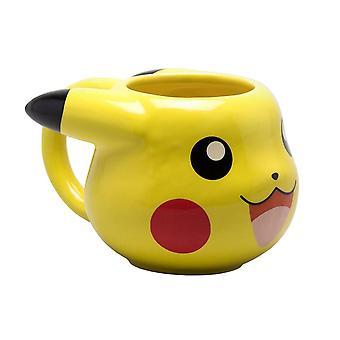 Pokémon, 3D Mugg - Pikachu