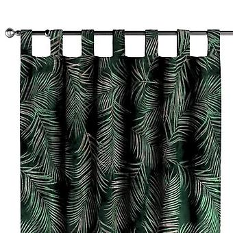 lussjaal, groen, 130 x 260 cm, Fluweel, 704-21