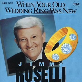 Jimmy Roselli - When Your Old Wedding Ring Was [CD] USA import