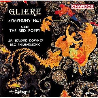 R. Gliere - Reinhold Gliere: Symphony No. 1; the Red Poppy Suite [CD] USA import