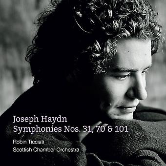 Haydn / Ticciati / Scottish Chamber Orchestra - Symphonies Nos. 31 & 70 & 101 [SACD] USA import