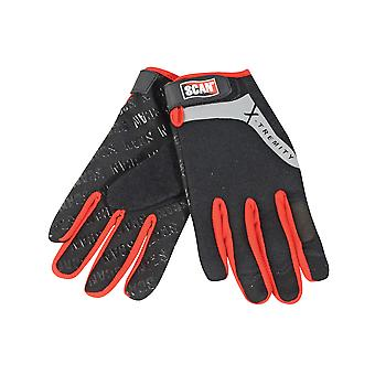 Scan Work Gloves with Touch Screen Function - Large (Size 9)
