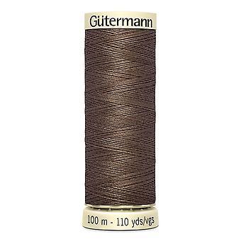 Gutermann Sy-all 100% Polyester Tråd 100m Hånd- og maskinfargekode - 672