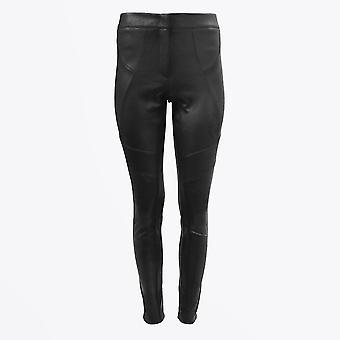 Eva Kayan - Pantalon en cuir - Noir