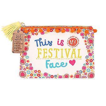 Etwas anderes Festival Gesicht Make Up Tasche