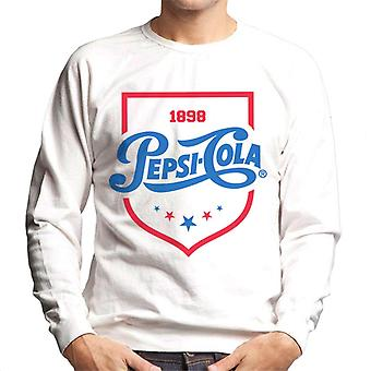 Pepsi Cola 1898 Shield Logo Men's Sweatshirt