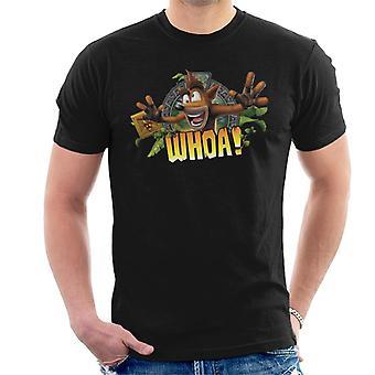 Crash Bandicoot Whoa Men's T-Shirt