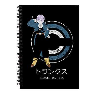 Saiyan From The Future Dragon Ball Z Spiral Notebook