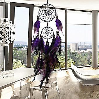 Beautiful Feather Crafts Dream Catcher - Handmade Dreamcatcher Wall Hanging Car Home Decoration