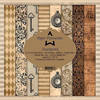 Dixi Craft Steampunk 6x6 Inch Paper Pack