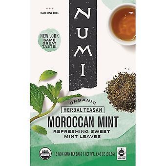 Numi Organic Tea Moroccan Mint Tea Bags