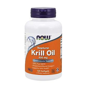 Krill oil 120 vegetable capsules