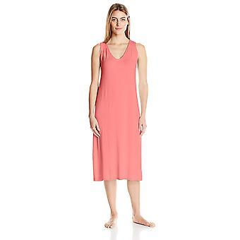 Marca - Arabella Women's Racerback Nightgown, Salmon, Small