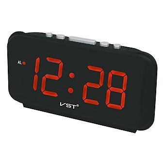 Vst st-4 grote aantallen digitale wekkers eu plug ac power elektronische tafelklokken met 1,8 grote led display home decor cadeau voor kinderen