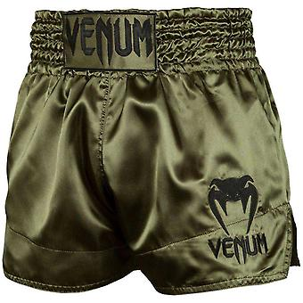 Venum klassiske muay thai shorts khaki/sort