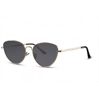 Sunglasses Women's Butterfly Cat.3 gold/black (CWI2475)