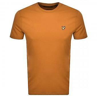 Lyle & Scott Plain Crew Neck T-Shirt Caramel TS400V