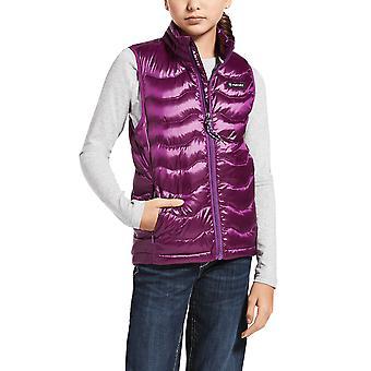Ariat Ideal 3.0 Girls Down Vest - Imperial Violet