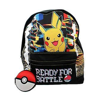 Pokemon Pikachu valmis battle reppu