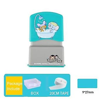 """Nom Stamp Waterproof Toy Baby -wash Not Faded""""s"""