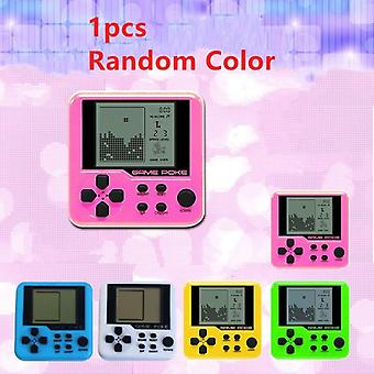 Mini Educational Electronic Tetris Children Handheld Game Console Portable Lcd Players Toy