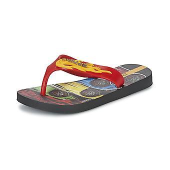 Ipanema Hot Wheels Tyre Kids Flip Flops - Red