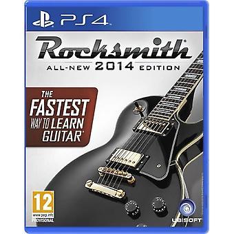 Rocksmith 2014 PS4 -peli (real tone -kaapelilla)