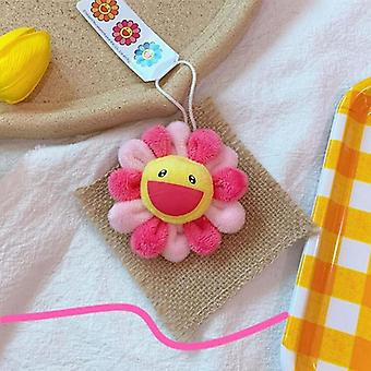 Cartoon Sun Flower, Cat Paw, Elephant and Monsters Plush Dolls - Broche pendente