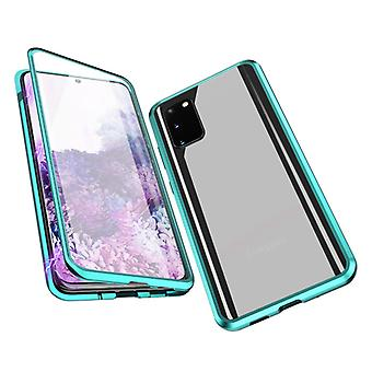 Stuff Certified® Samsung Galaxy S20 Plus Magnetic 360 ° Case with Tempered Glass - Full Body Cover Case + Screen Protector Green