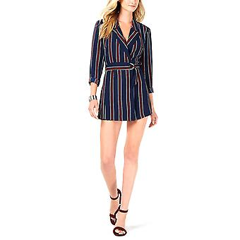 Rules of Etiquette | Living Doll Striped Belted Romper