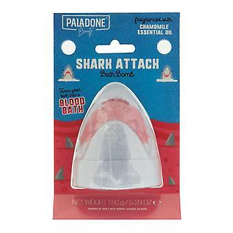 Shark Attack Bath Bomb Shaped Colour Changing Bath Fizzer Chamomile Fragrance
