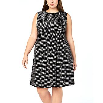 Anne Klein | Printed Fit & Flare Dress