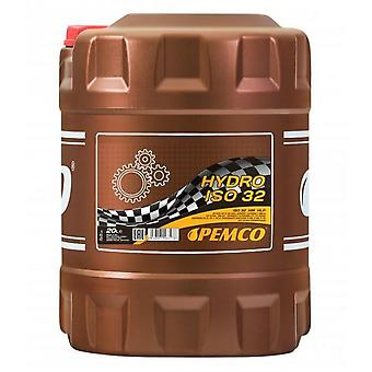 Pemco Industrial Hydraulic Oil Hydro ISO 32 20 Litres DIN 51424 / AFNOR NF E 48-603 / US STEEL 126/127