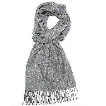 タイズ プラネット プレーン グレー メン&アポス;s ロング ウール スカーフ