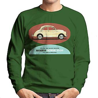 Morris Minor 1000 Its The Car Called Success British Motor Heritage Men's Sweatshirt