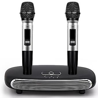 Handheld Wireless Karaoke-microphone Home  Digital Karaoke Echo-mixer Audio Sound-mixer