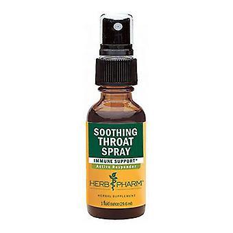 Herb Pharm Soothing Throat Spray, 1 Oz