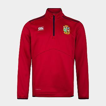 Canterbury Brittiläinen ja Irlantilainen Lions Quarter Zip Fleece Mens