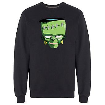 Scary Halloween Cool Monster Sweatshirt Men's -Image by Shutterstock