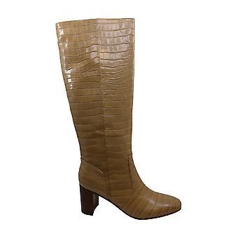 Marc Fisher Frauen's Schuhe schwelgen Leder Quadrat Toe Knie High Fashion Stiefel