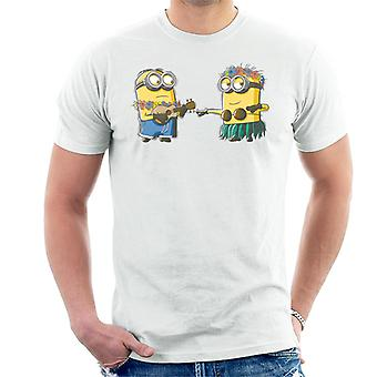 Despicable Me Minions Hula Men's T-Shirt
