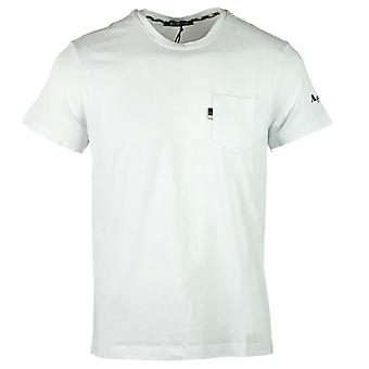 Aquascutum Sleeve Logo T-shirt blanc