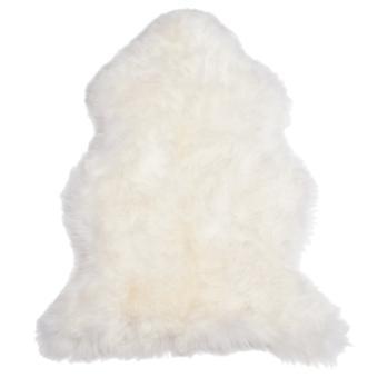 Pluizige schapenvacht, lamsvel rug