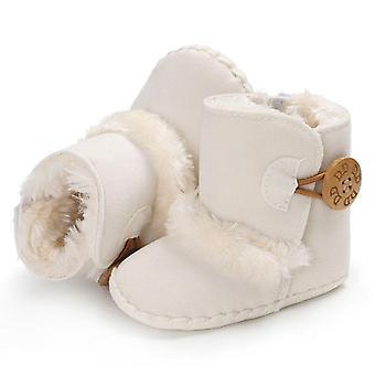 Knopf näher, Mitte Kalb Länge Winter warme Schneestiefel für Neugeborene Baby