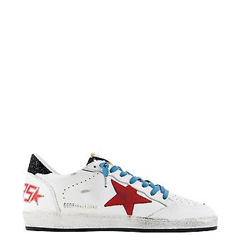 Golden Goose Gmf00117f00063580516 Men's White Leather Sneakers